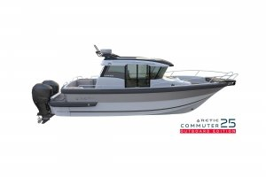 Outboard version ARCTIC Commuter 25